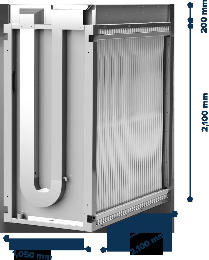 module-with-membrane-dimensions